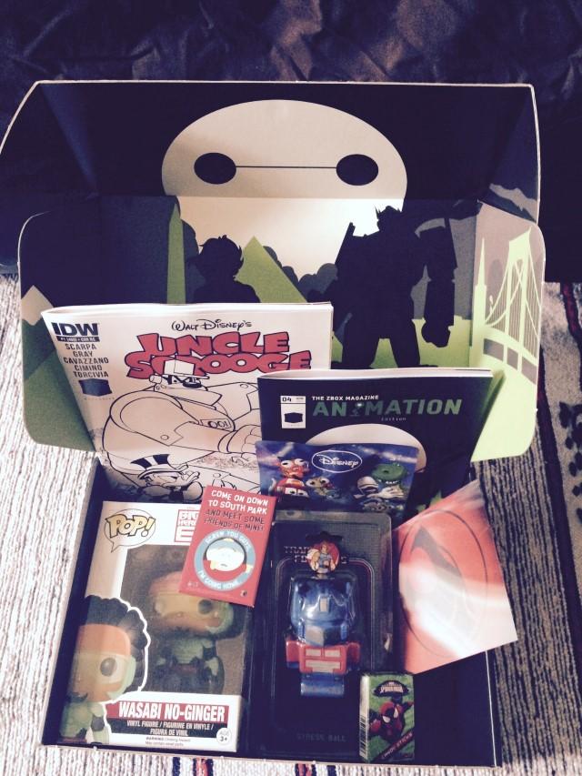 Zavvi Zbox Geek Box Review April 2015 Geek