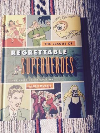Loot Crate July 2015 Regrettable Superheroes Book