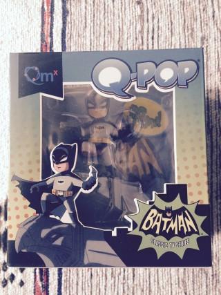 Loot Crate July 2015 Batman Qpop Figure