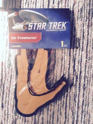 Loot Crate July 2015 Star Trek Air Freshener