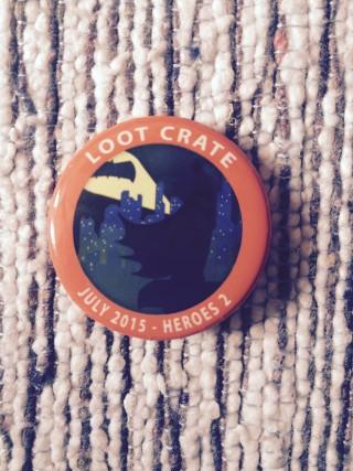 Loot Crate July 2015 Badge