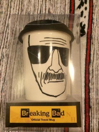 My Geek Box September 2015 Breaking Bad Travel Mug