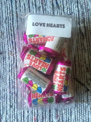 Scoff Club September 2015 Love Hearts