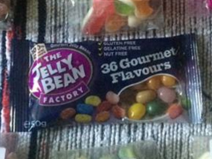 Scoff Club September 2015 Jelly Bean Factory