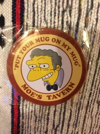 Nerd Block October 2015 Simpsons Mo Coaster