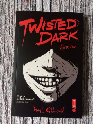 My Geek Box October 2015 Twisted Dark Graphic Novel