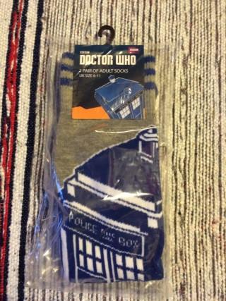 Zavvi ZBox October 2015 Doctor Who Socks