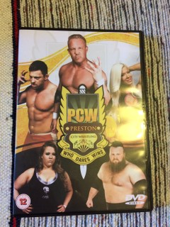 Wrestle Crate November 2015 PCW Wrestling DVD