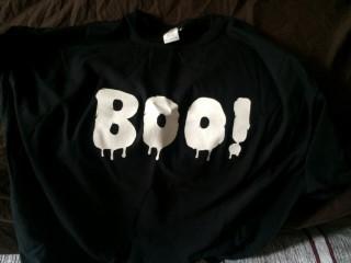 My Geek Box October 2015 Boo TShirt