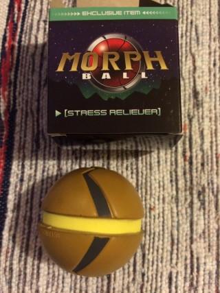 Arcade Block January 2016 Metroid Stress Ball