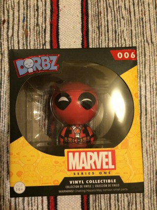 1Up Box January 2016 Deadpool Dorbz
