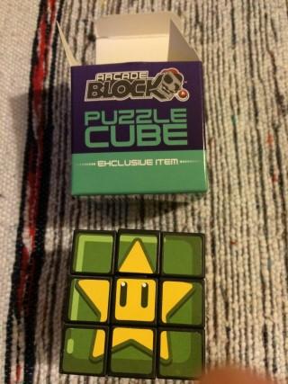 Arcade Block January 2016 Puzzle Cube