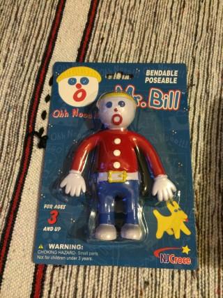 Retro Pop Box 1970s February 2016 Mr Bill Bendy Doll