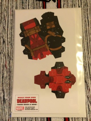 Cosmic Toy Box February 2016 Build Your Own Deadpool