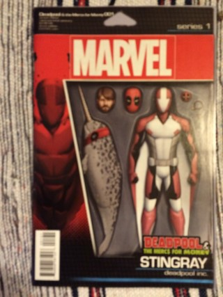 Cosmic Toy Box February 2016 Deadpool And The Mercs For Money 001 Comic Variant