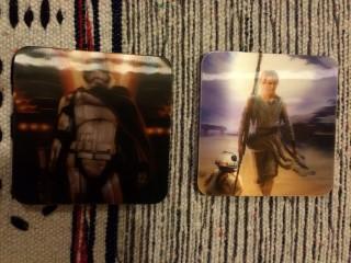 Cosmic Toy Box February 2016 Star Wars Hologram Coasters