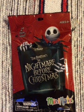 Cosmic Toy Box February 2016 The Nightmare Before Christmas Blind Bag