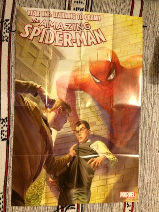 Cosmic Toy Box February 2016 Spider-man Year One Poster