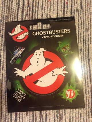 Lootchest March 2016 Ghostbusters Vinyl Sticker