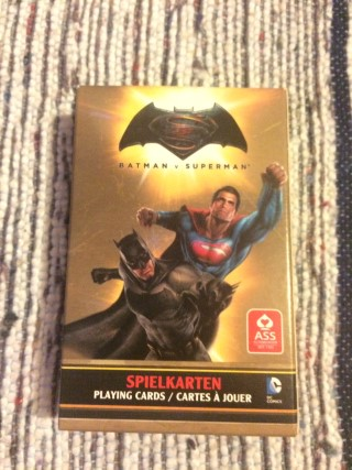 Lootchest March 2016 Batman Superman Playing Cards