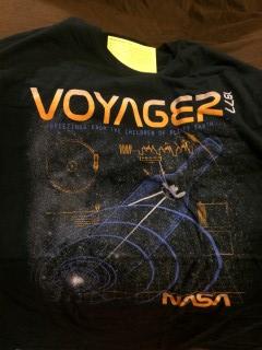 Retro Pop Box 1970s February 2016 Voyager T-Shirt