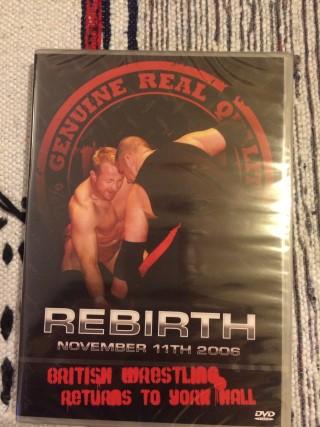Slobberknocker Box March 2016 RQW Rebirth DVD