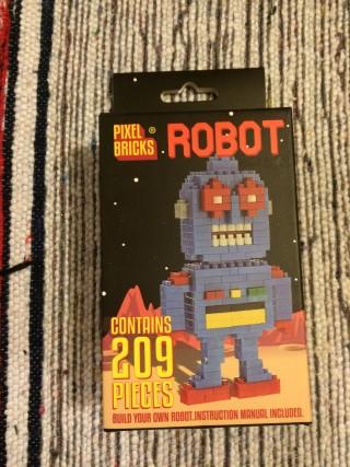 Thingamabox March 2016 Pixel Bricks Robot