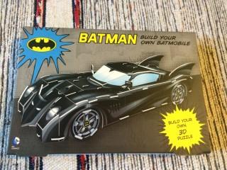 Zavvi ZBox April 2016 Build Your Own Batmobile