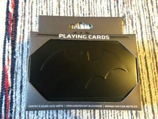 Zavvi ZBox April 2016 Batman Playing Cards