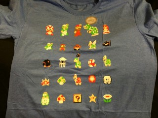 Loot Gaming March 2016 Mario TShirt
