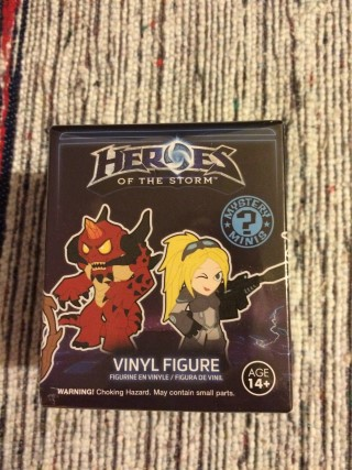 Loot Gaming March 2016 Heroes Of The Storm Vinyl Figure
