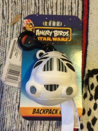 Super Geek Mystery Box April 2016 Star Wars Bag Clip