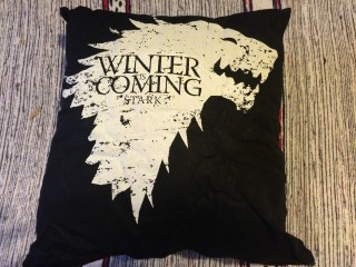 Super Geek Mystery Box April 2016 Game Of Thrones Cushion